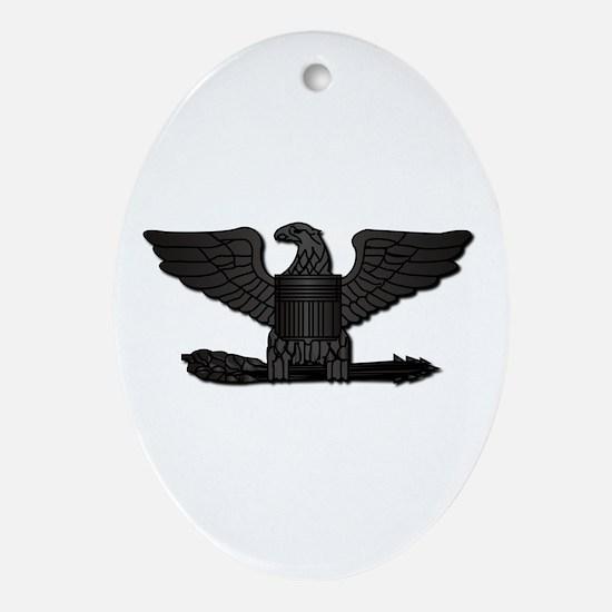 Navy - Captain - O-6 - No Text Ornament (Oval)