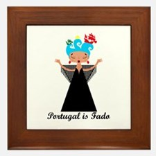 Portugal is fado Framed Tile