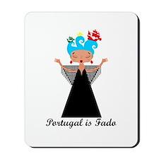 Portugal is fado Mousepad
