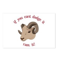 If You Cant Dodge It Ran It! Postcards (Package of