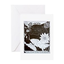 Pisces Horoscope Greeting Cards