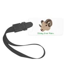 Obey The Ram Luggage Tag