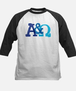 Alpha and Omega for Christians Baseball Jersey