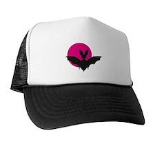 Bat and Moon Trucker Hat