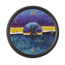 In Limbo Fandango Large Wall Clock