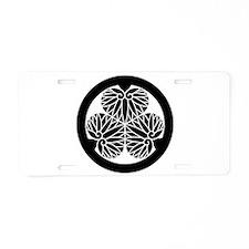 Owari hollyhock(17) Aluminum License Plate