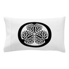 Owari hollyhock(17) Pillow Case