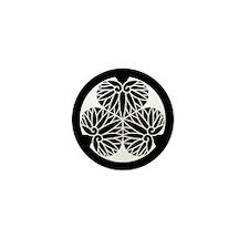 Owari hollyhock(17) Mini Button