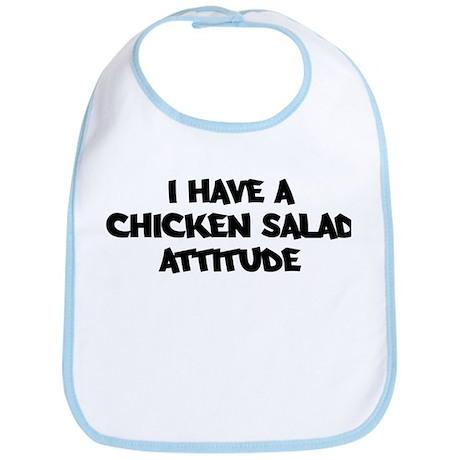 CHICKEN SALAD attitude Bib