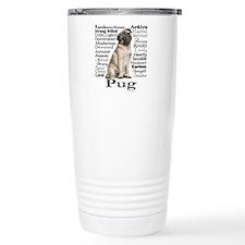 Pug Traits Travel Mug