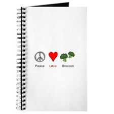 Peace Love Broccoli Journal