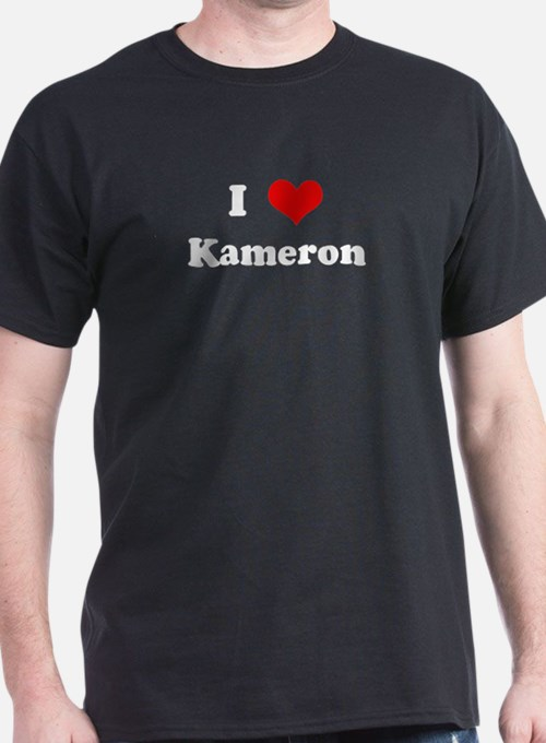 I Love Kameron T-Shirt