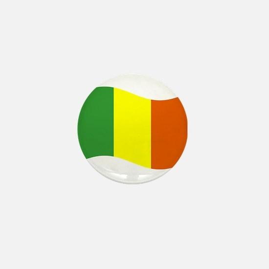 Waving Mali Flag Mini Button