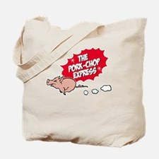 pork chop ex Tote Bag