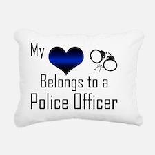 My Heart Belongs to a Po Rectangular Canvas Pillow