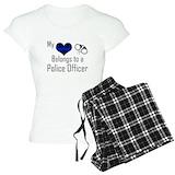 Police wife T-Shirt / Pajams Pants
