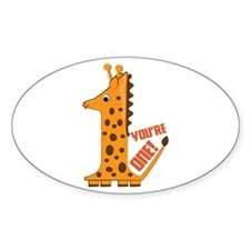 You're One! Decal