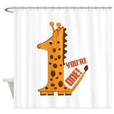 You're One! Shower Curtain