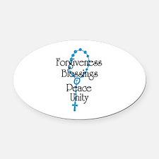 Forgiveness Oval Car Magnet