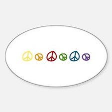 Peace Signs Decal