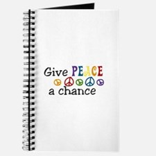 Give peace Journal