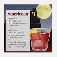 Unique Americano Tile Coaster