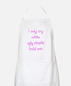 I ONLY CRY BBQ Apron