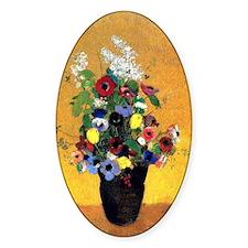 Odilon Redon - Flowers-2 Decal