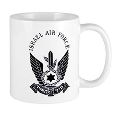 IAF Black Mug