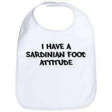 SARDINIAN FOOD attitude Bib