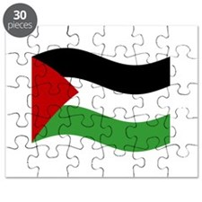 Waving Palestine Flag Puzzle