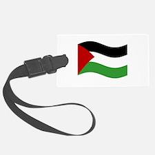 Waving Palestine Flag Luggage Tag