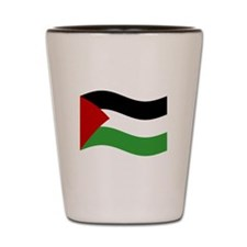 Waving Palestine Flag Shot Glass