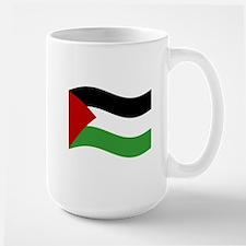 Waving Palestine Flag Mugs