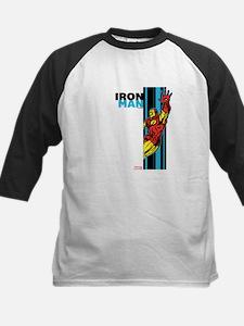 Iron Man Vertical Kids Baseball Jersey