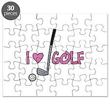 I Heart Golf Puzzle