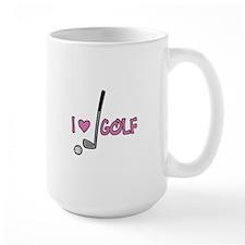 I Heart Golf Mugs