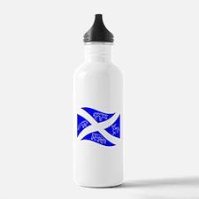 Waving Pictish Scotland Flag #1 Water Bottle