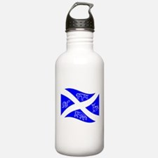 Waving Pictish Scotland Flag #2 Water Bottle