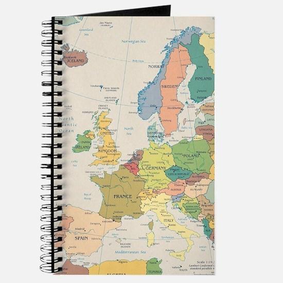 Europe Map Journal