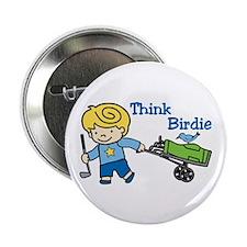 """Think Birdie 2.25"""" Button (10 pack)"""