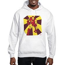 Iron Man Rays Hoodie