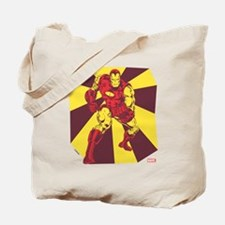 Iron Man Rays Tote Bag