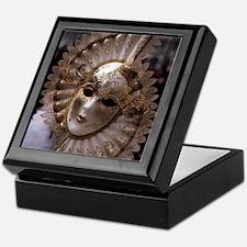 Venetian carnival mask Keepsake Box