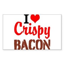 I Love Crispy Bacon Decal