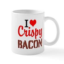 I Love Crispy Bacon Mugs