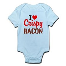 I Love Crispy Bacon Body Suit