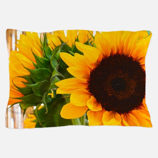 Sunflower III Pillow Case