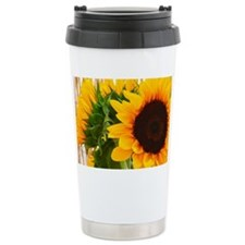 Sunflower III Travel Mug