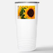 Sunflower III Travel Mug